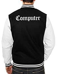 Computer College Vest Black Certified Freak