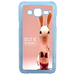 Lapinette Coque Rigide Humour Lapin Crétin Samsung Galaxy J5
