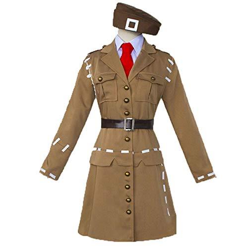 CAGYMJ Halloween Kostüm Männlich Frau,Cosplay Luftwaffe Uniform Anzug Spiel Fünfte Persönlichkeit,Oktoberfest Ostern Kleidung Karneval Party,XL (Oktoberfest Kostüm Männlich)