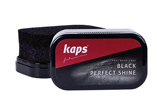 Kaps Brillo Perfecto Esponja Para Lustrar Zapatos - Color: Negro
