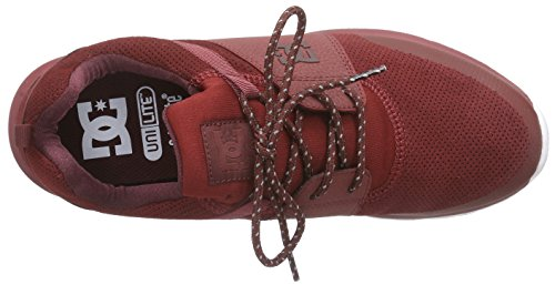 DC Shoes Heathrow Presti M, Baskets Basses Homme Rouge (Red Clay)