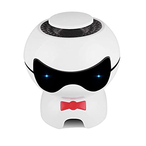 USB-Auto-Luftreiniger, Schlafzimmer Mini Luftfilter, Touch Control-Ionisator entfernt Pollen, Rauch, Gestank und Gerüche