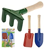 Kinder Gartenwerkzeug Gartengeräte Set Metall