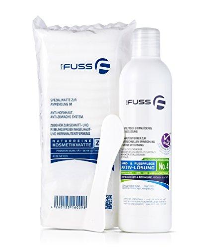 Hornhautentferner Mr. Fuss Lösung No. 4 - schnell erweichend - 250ml Plus Pack
