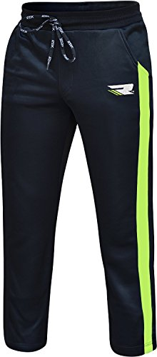 RDX Kampf ME Hose UFC MMA Gym Bottoms Jogging Jogger Shorts Boxing Herren Vlies Gruen L