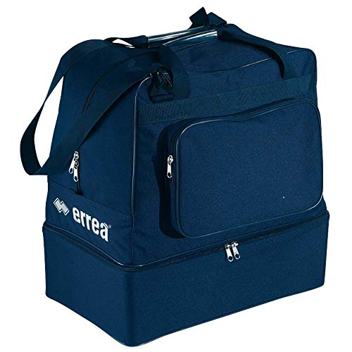 ERREA Borsa Basic Calcio Blu Scura Con Fondo Rigido ND