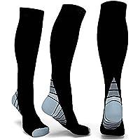 Christine Herren Frauen Sport Unterstützung Bein Abgestufte Kompression Socken Athletic Passform für Running,... preisvergleich bei billige-tabletten.eu