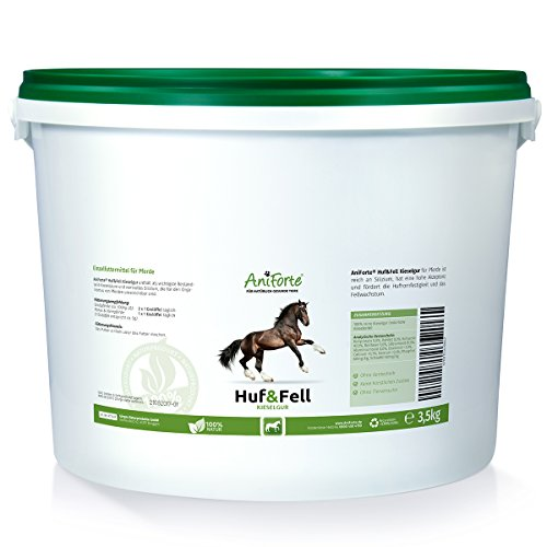 AniForte Huf & Fell Kieselgur 3,5 kg - Naturprodukt für Pferde - (Qualitäts-ID: 508 R 02)