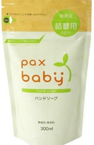 Taiyo Yushi Pax Baby | Skin Care | Baby Hand Soap Refill 300ml (japan import)