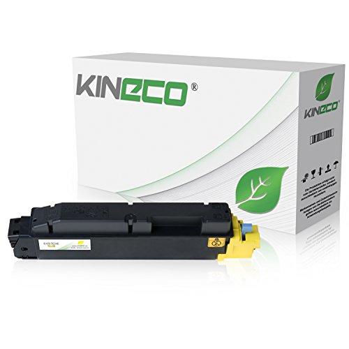 Preisvergleich Produktbild Kineco Toner kompatibel für Kyocera TK-5140 Yellow 5000 Seiten ,1T02NRANL0,ECOSYS M 6030 cdn M 6530 P 6130