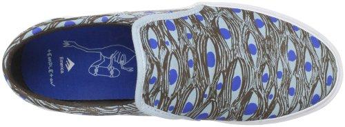 Skateschuhe Emerica Ridgemont Ed Templeton brown/blue R1dD7IDes