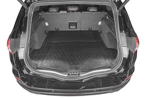 rmg-distribuzione Tappeto Baule per Passat Variant Versione (2010-2011 (362)) Tappetino in Gomma per Bagagliaio Baule Auto ritagliabile Misura 130 x 120 cm (RMG25) R25S0960