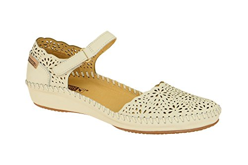 Sandale Pikolinos rohe Haut 655-1572 37 Knochen (Leder Sandale Knochen)