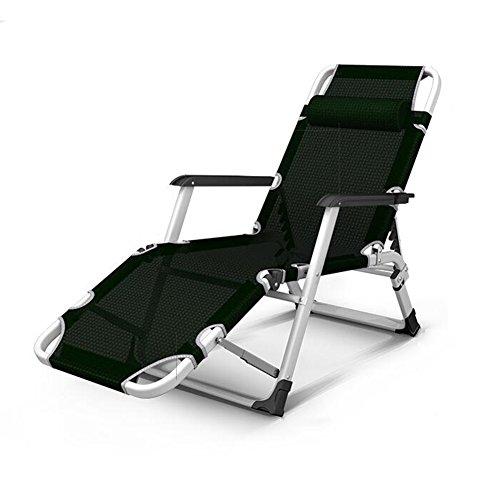 YIXINY Deckchair JLD-DY Komfortabel und Atmungsaktiv Tuch + Ferrolegierung Multi-Winkelverstellung...