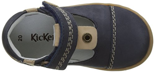 Kickers Tropico, Sandales Bébé Garçon Bleu (Marine)
