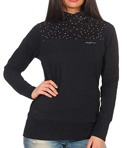 mazine Damen Sweatshirt Stockholm Hoody schwarz M -