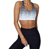 LILICAT® Calzas deportivas elásticas y transpirables para mujer, Fitness Yoga entrenamiento Calzado deportivo con cintura alta Túnicas Tops + pantalones (M, Azul1)