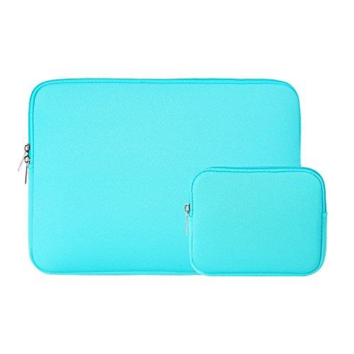 Laptophülle Wasserresistente Hülle Sleeve Tasche für 13,3 Zoll MacBook Pro, MacBook Air, Notebook Computer Laptophülle Schutzhülle Laptoptasche Notebooktasche mit Kleinen Fall (Pink Pro In Fall Macbook 13)