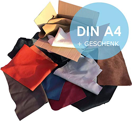 Lederreste Sortiert, 1000 g - größer DinA4 von kiloleder.de®