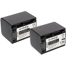 2x Batería NP-FV70 para Sony DCR, HDR, NEX... (ver descripción)