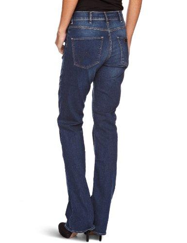 Wrangler Damen Jeans, Tina Scuffed Indigo Blau (Scuffed Indigo 34D)