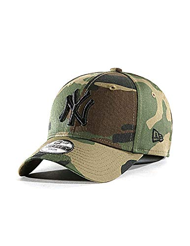 New Era Kids League Essenti 9 Forty Kinder Adjustable Cap NY Yankees Camouflage, Size:Youth