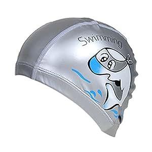 TININNA Breathable Waterproof Swimming Swim Cap Hat Hair ...