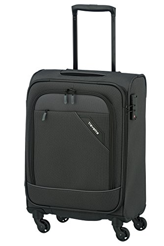 Travelite DERBY 4-Rad Trolley S, Anthrazit, 87547-04 Bagaglio a mano, 55 cm, 41 liters, Grigio (Anthrazit)