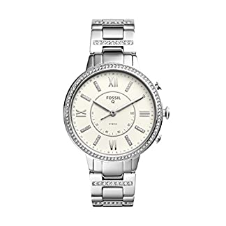 Fossil Hybrid Watch Analog White Dial Women's Watch – FTW5009