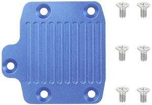 Tamiya 300054040-Db de 01Aluminio Motor Disipador Chassis, Azul Anodizado