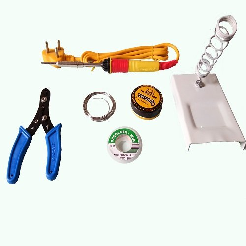 6 in1 Electric Soldering Iron Kit / 25W HIGH QUALITY SOLDERING IRON  available at amazon for Rs.299
