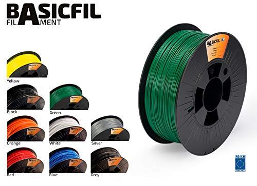 BASICFIL PLA 1.75mm 1 kg, GRÜN (green), 3D Drucker Filament