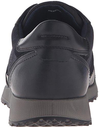Ecco Sneak Mens, Baskets Basses Homme Noir (BLACK/MARINE/NAVY50163)