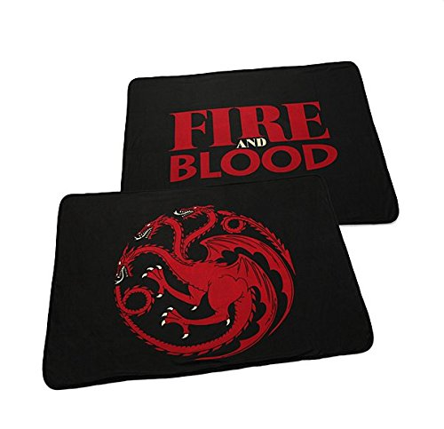Game of Thrones Targaryen Fleecedecke