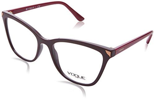 Vogue Damen Brillengestell Rot bordeaux Einheitsgröße