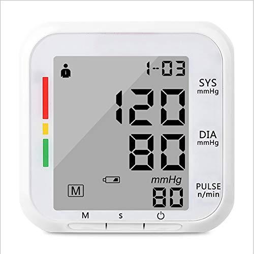 BlutdruckmessgeräT Oberarm Digitale Blutdruck MessgeräTe Powered Blutdruckmessung Mit Arrhythmie Erkennung GroßBild Display GroßEs Led-Display und großer Schutzhülle für eine präzise Blutdruckmessung