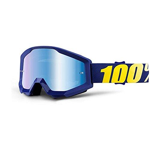 100% 50410-238-02 Strata Hope Masque de Vtt Bleu