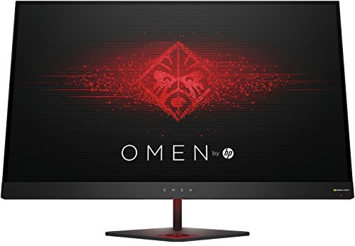 "HP OMEN 27 - Monitor gaming de 27"" (QHD, 1ms, 165 Hz, Nvidia G-Sync, 2560 x 1440 pixeles), color negro"