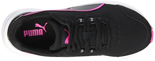 Puma Damen Descendant V4 Sl Laufschuhe Schwarz - Noir (Black/Pink Glo)