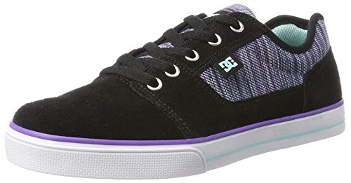 DC Shoes Tonik SE, Mädchen Low-Top, Schwarz (Multi 2), 39 EU (6 UK) (Dc Shoes Mädchen)