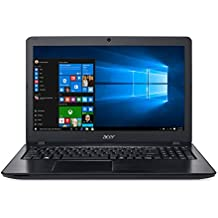 "Acer F5-573G-507X - Ordenador Portátil de 15.6"" HD (Intel Core i5-7200U, 8 GB RAM, 1 TB HDD, Nvidia GTX 950M 4 GB, Windows 10); Negro - Teclado QWERTY Español"