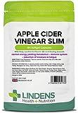 Lindens Capsule sottili di aceto di sidro di mele   84 Confezione   Contribuisce al corretto funzionamento del metabolismo, della funzione tiroidea e alla riduzione del senso di stanchezza e affaticamento