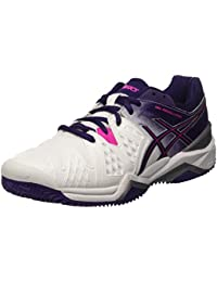 Asics Gel-Resolution 6 Clay, Zapatillas de Tenis para Mujer