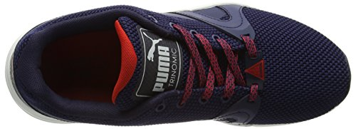 Puma Xt-s Crafted S6, Baskets Basses Mixte Adulte Multicolore (Peacoat/Beige)