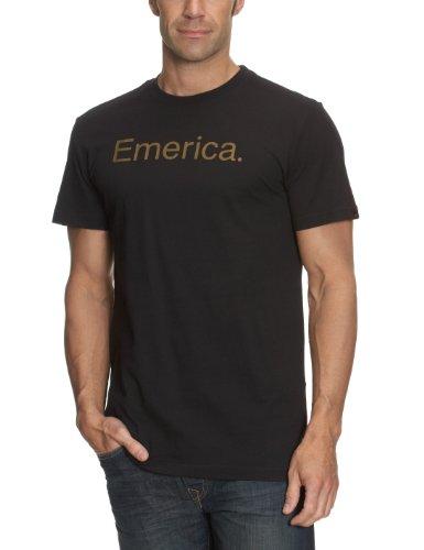 Emerica Herren T-Shirt Pure 7.0 S/S, Black, S, EMEMTSS_PURE7 -