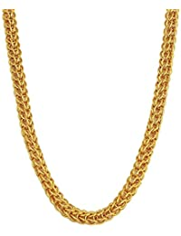Charms Chain for Men (Golden)(CH-033EF)
