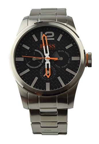 Boss Orange Uhr Men's Watch Quartz Analogue Silver Stainless Steel 1513238