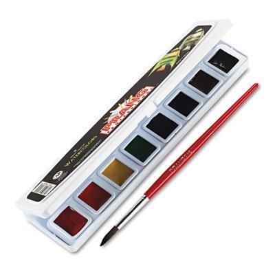 (Professionelle Aquarelle, 8verschiedene Farben, Hälfte Pfannen, verkauft als je 1)