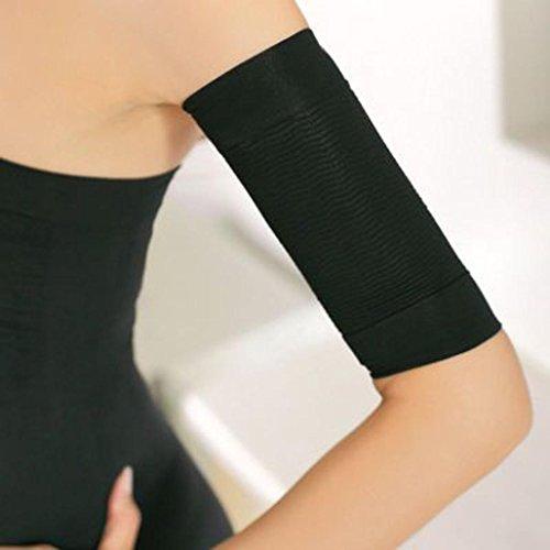 auen Shaper Gewichtsverlust Beine dünne Arm aus Fett Buster Slimmer Wrap Gürtel (Schwarz) ()