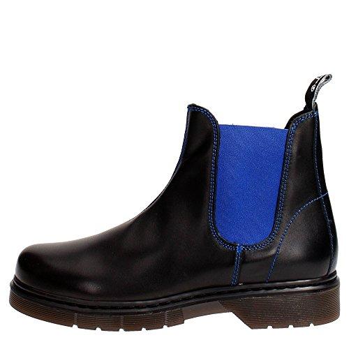 Cult CLJ101509 Boots Femme Noir/Bleu